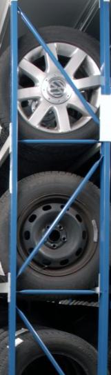 Reifenregal und Räderlagerung - Europe Racking